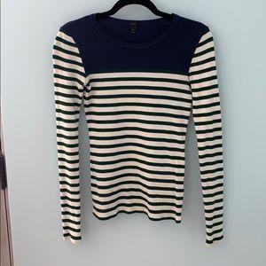 JCrew Long Sleeve Striped Shirt